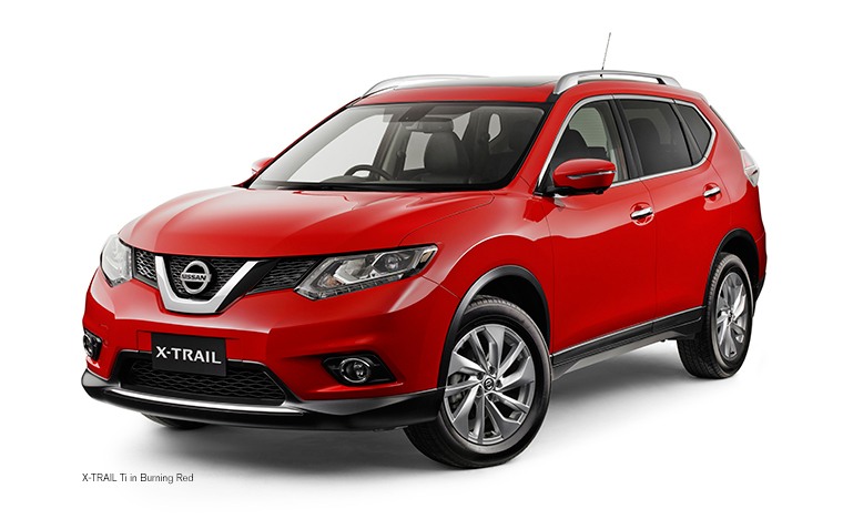 nissan x trail now available getacar car rentals. Black Bedroom Furniture Sets. Home Design Ideas
